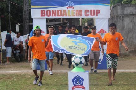SQUAD ORANGE PANITIA TURNAMEN SEPAK BOLA BONDALEM CUP II TAHUN 2019