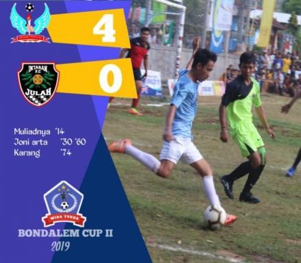 DHARMA PUTRAFC BUNGKAM INTARAN FC 9 (4-0)