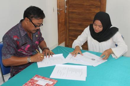 DESA BONDALEM TERIMA MAHASISWA KKN UNUD TAHUN 2019