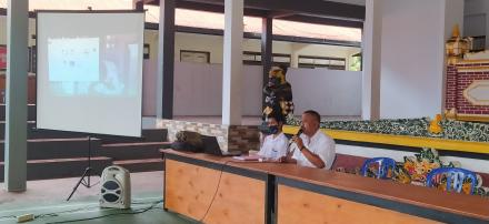 Kegiatan Orientasi dan pelatihan Kader Pendata PK21